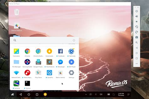 win player android run an android desktop on windows with remix os player digital trends
