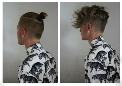 how to cut hair for a top knot male undercut hairstyle 45 stylish looks hommes malaysia s