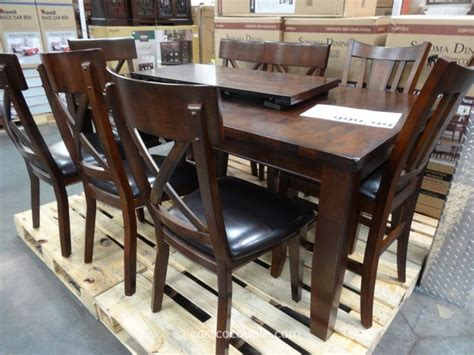 9pc Dining Room Set heritage brands sonoma 9 piece dining set
