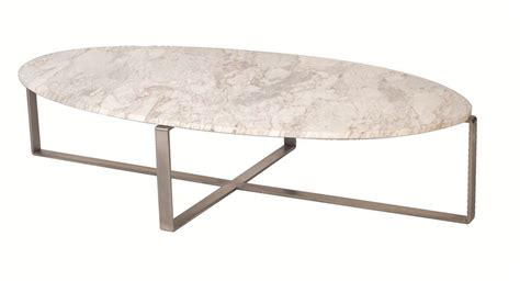 Lulu Marble Oval Coffee Table Moss Furniture Oval Shaped Coffee Table