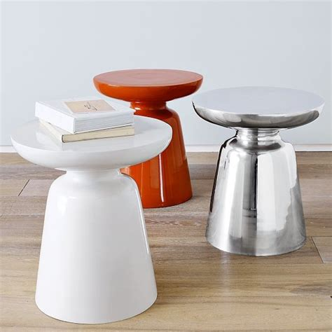 martini side table west elm contemporary side tables