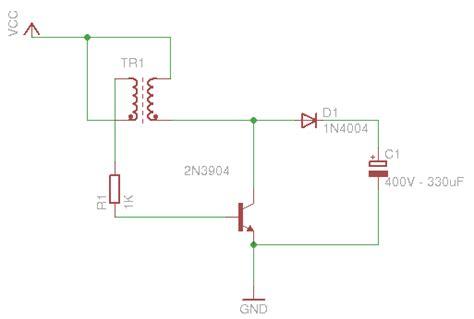 joule thief charging a capacitor joule thief ou comment trouver de l electricit 233 o 249 il n y en a presque pas rhaaa