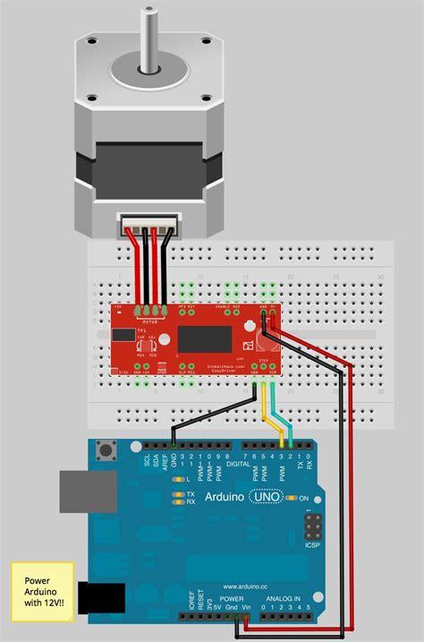 arduino 6 wire stepper motor stepper motor quickstart guide sparkfun electronics