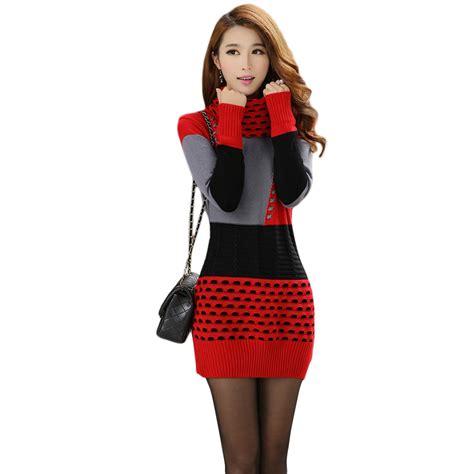 Knitted Turtleneck Dress buy wholesale knit turtleneck dress from china knit