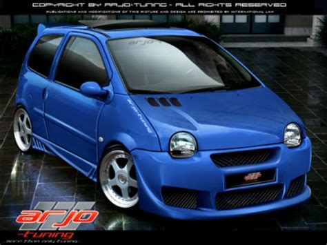 frontbumper  renault twingo   avb sports car tuning spare parts