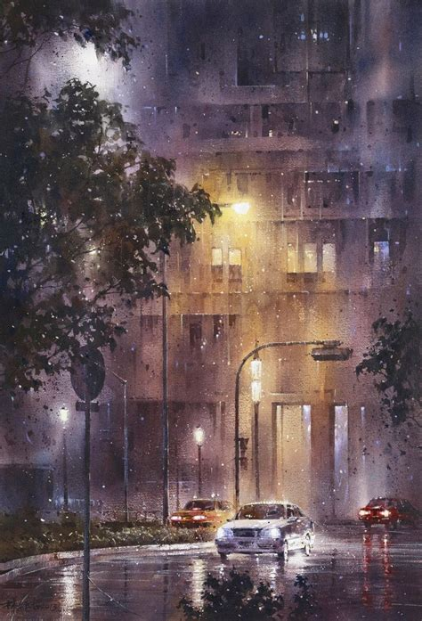 paint nite cities 17 best images about watercolor on