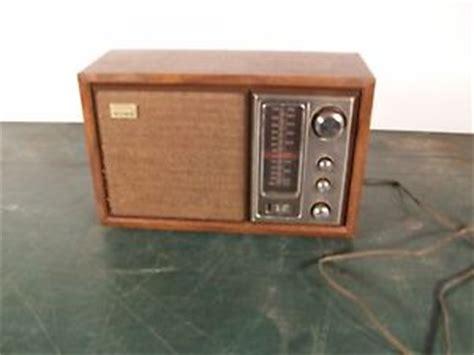 sony cabinet radio antenna 1960s sony model icf 9650w wood cabinet am fm tabletop