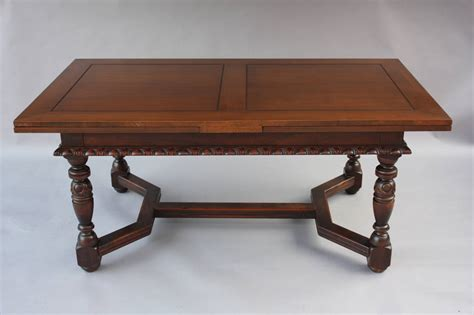 Expendable 1920 S Walnut Table Signed Kittinger At 1stdibs Kittinger Dining Table