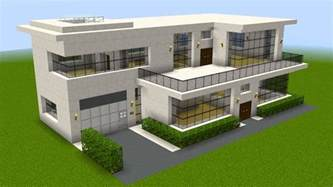 Create A House Minecraft How To Build A Huge Modern House Youtube