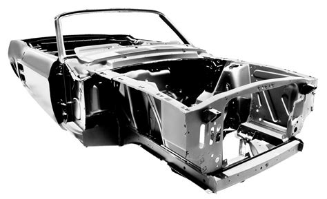 1967 mustang parts ford licensed shell lets you build a new 67