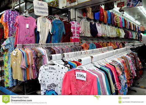 bangkok thailand india clothing shop editorial
