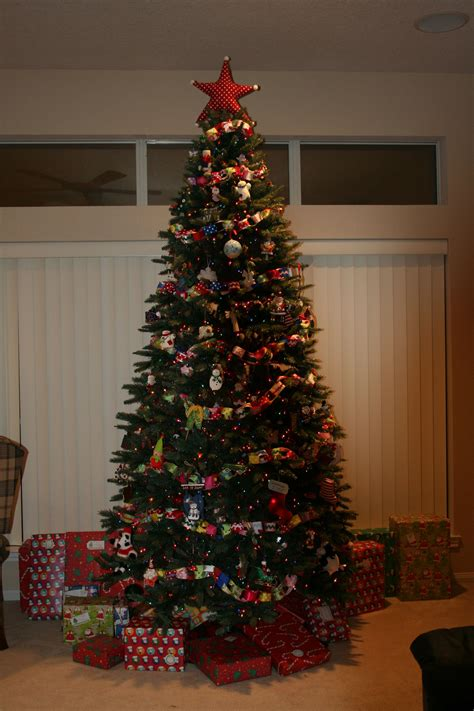 ribbon garland for christmas tree christmas trees