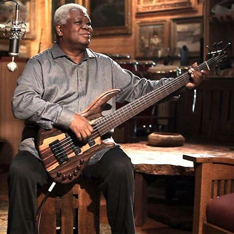 Abraham Laboriel and a Wyn Bass   Bass Guitars and Bass