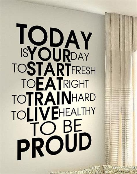 Nike Aufkleber Xxl by Xxl Healthy Fitness Sports Motivation Fit Quote Wall Vinyl
