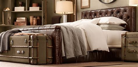 bedroom furniture restoration hardware leather beds restoration hardware my apartment