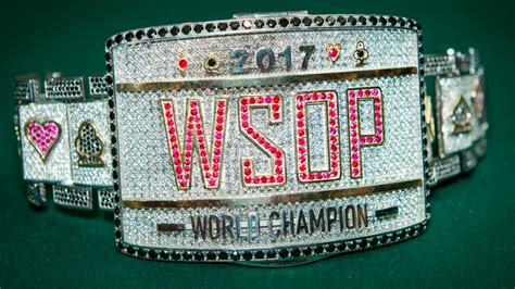 wsop event table 2017 2017 wsop event begins w o november nine table
