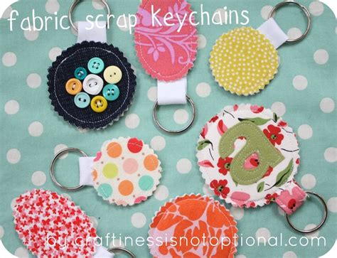 fabric keyring pattern scrap your stash guest post fabric scrap key chain tutorial