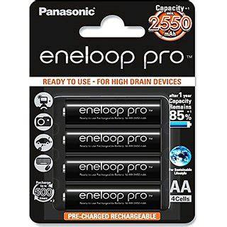 panasonic eneloop pro upto 2550mah 4xaa rechargeable ni mh battery bk 3hcce 4bn buy panasonic