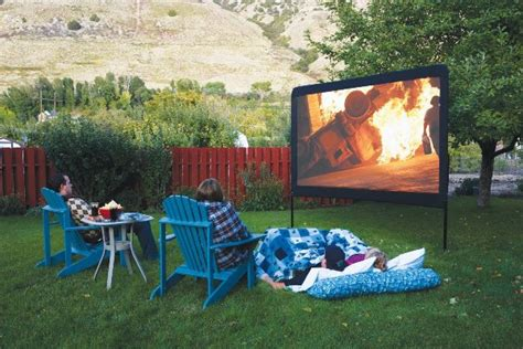 diy backyard projector screen backyard screen diy outdoor home design garden