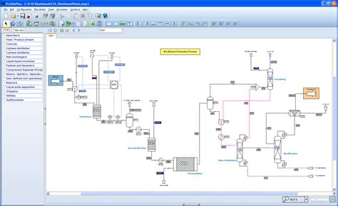design proposal bioethanol production plant bioethanol production simulation with prosimplus