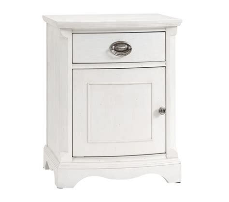 a bedside table modifies into pottery barn nightstand regency nightstand pottery barn