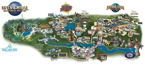universal orlando map universal orlando resort disney and universal florida planning orlando insights