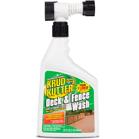 krud kutter deck fence wash