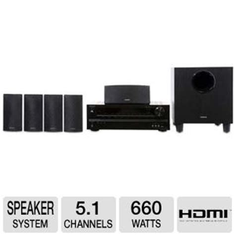 onkyo hts3500 home theater system 5 1 channel 660 watts