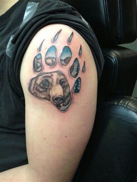 tattoo pictures bear paws bear paw tattoo tattoo ideas pinterest