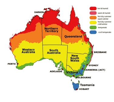 Of Southern Australia Mba by Australia Has Several Regions With Varying Weather