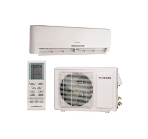 ductless room air conditioner frigidaire frs093ls1 minisplit ductless air conditioner system 9000 btu with f