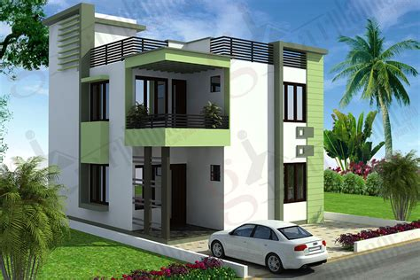stylish low cost 1800 sq ft 4 bhk contemporary house design duplex house plans duplex floor plans ghar planner