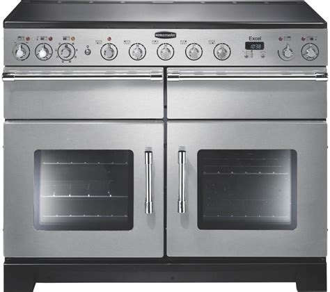 oven electric range with induction cooktop buy rangemaster excel 110 electric induction range cooker