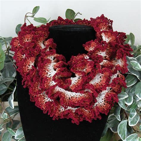 free crochet pattern hawaiian lei hawaiian lei ruffle scarf pattern by kathryn a clark
