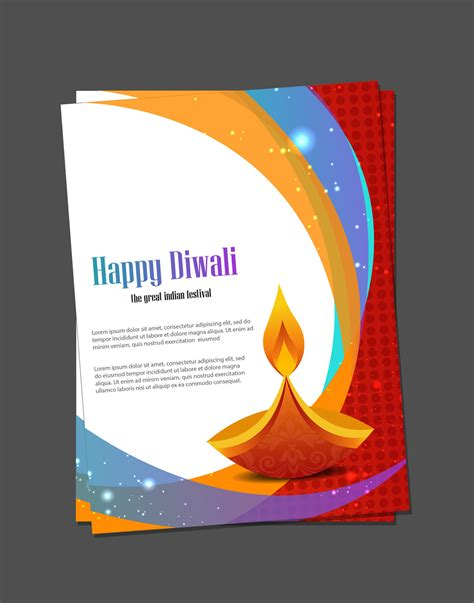 diwali card templates diwali card templates