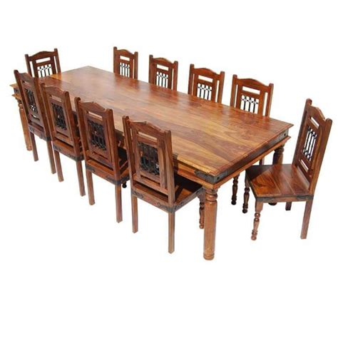 san francisco rustic furniture large dining table