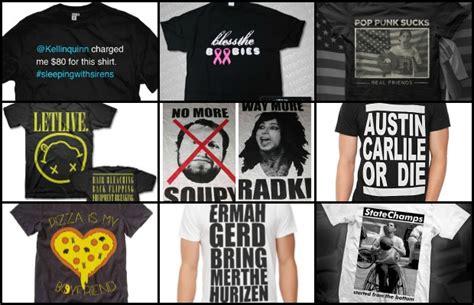 Meme Shirts Hot Topic - hot topic band t shirts memes