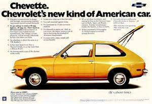 chevrolet chevette a new kind of american car 1975