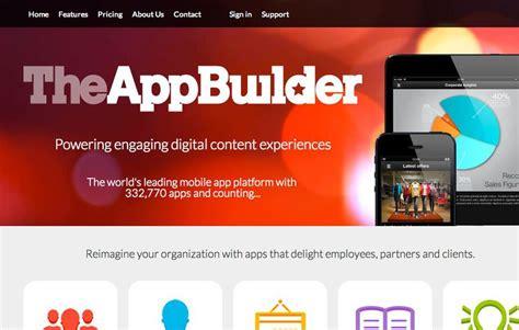 design app builder 10 excellent platforms for building mobile apps