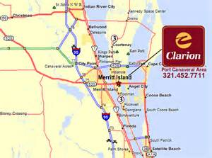 port canaveral florida map clarion hotel port canaveral kennedy space center area