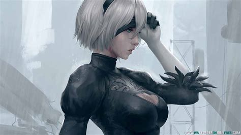 wallpaper engine girl download nier automata raindrops 8 1 wallpaper engine free