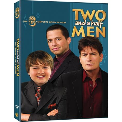 two and a half two and a half season 6 dvd widescreen
