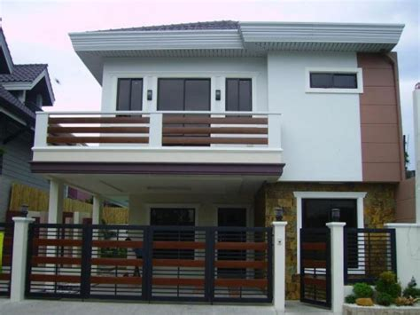 house plans with balcony design 2 storey house with balcony images 2 story modern