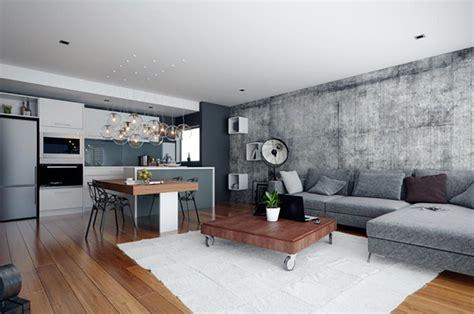 Petit Appartement Design by Pi 232 Ce De Vie Moderne Dans Un Petit Appartement De Ville