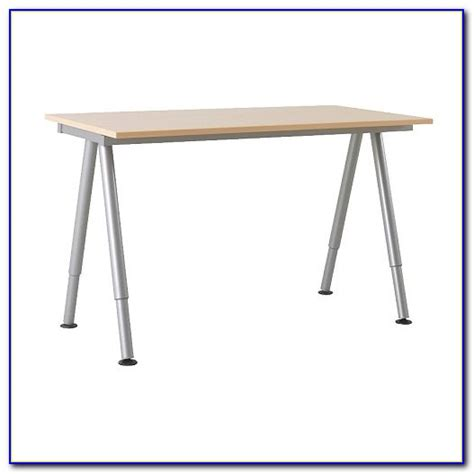 Ikea Galant Desk Adjustable Legs Desk Home Design