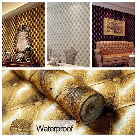 wallpaper for walls roll 3d modern imitation leather vein wallpaper roll for walls