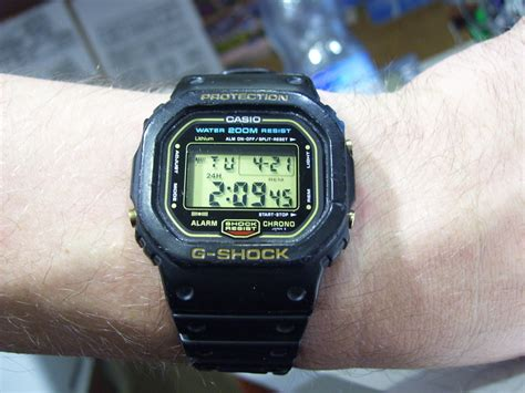 Shock Thailand Gshock 5600 Made In China Vs 5600 Made In Thailand