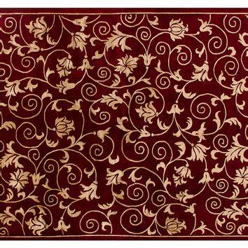 maroon rug stark 6 x9 kaemon rug maroon gold from one