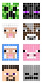 hama bead templates minecraft pixel templates all for the boys