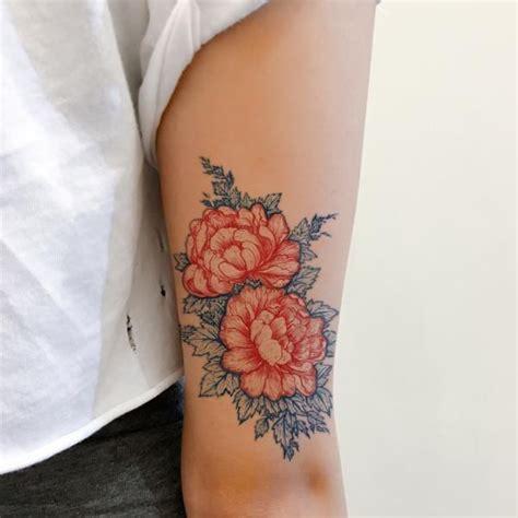 henna tattoo hong kong hong kong vintage peony flower tattoos tats